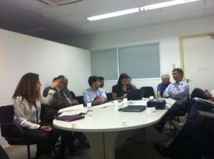 foto da reunião com MP