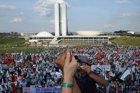 manifestação urbana