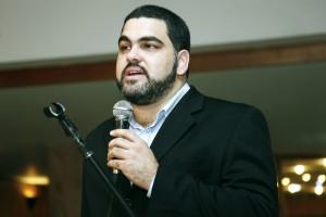 Foto do conselheiro do CAU/BA, Nivaldo Andrade
