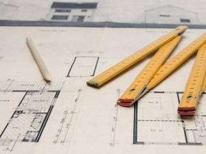 Imagem de materiais usados por arquitetos