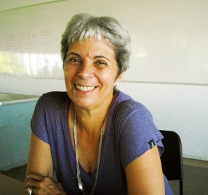 Foto da professora Ana Fernandes