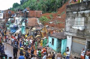 Apenas 15% dos recursos para contenção de encostas é gasto no Brasil