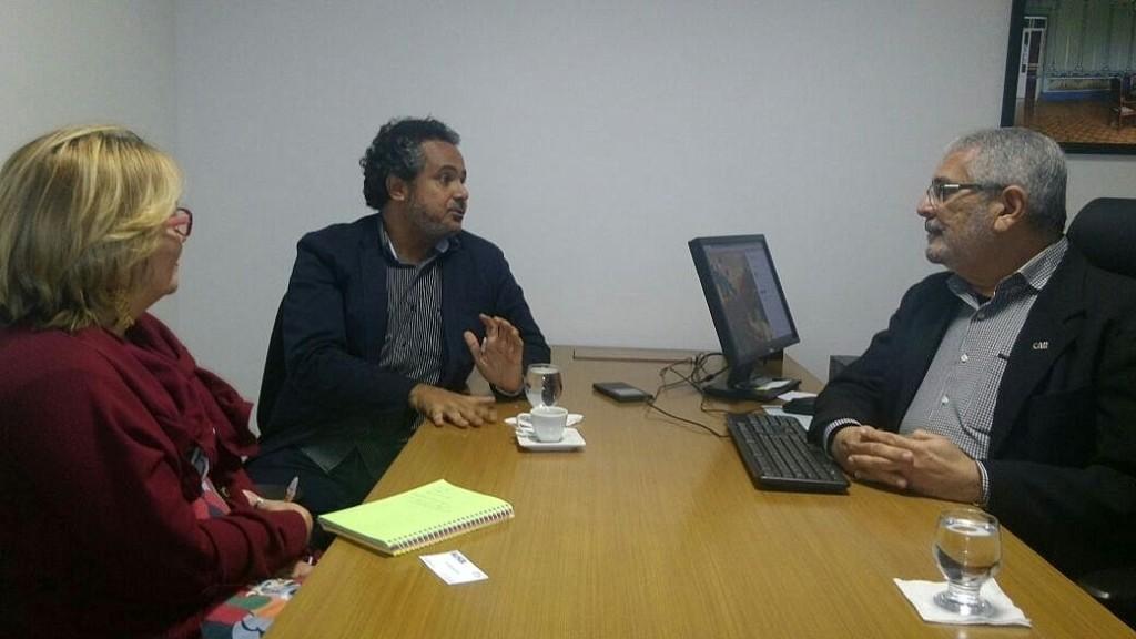 Reunião entre IPAC e CAU/BA
