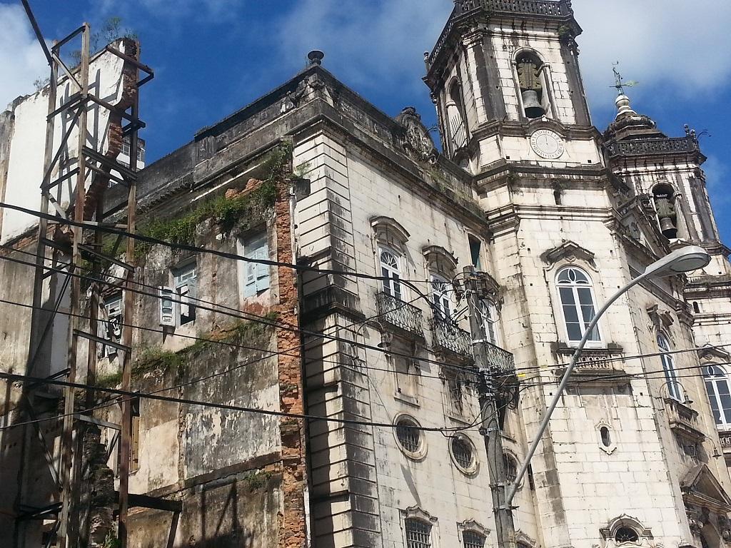 Centro histórico de salvador degradado
