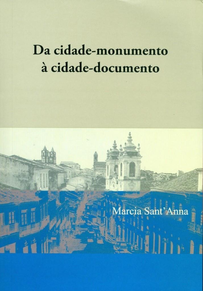 Livro da cidade monumento à cidade documento