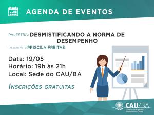 Agenda de Eventos CAU_normadedesempenho