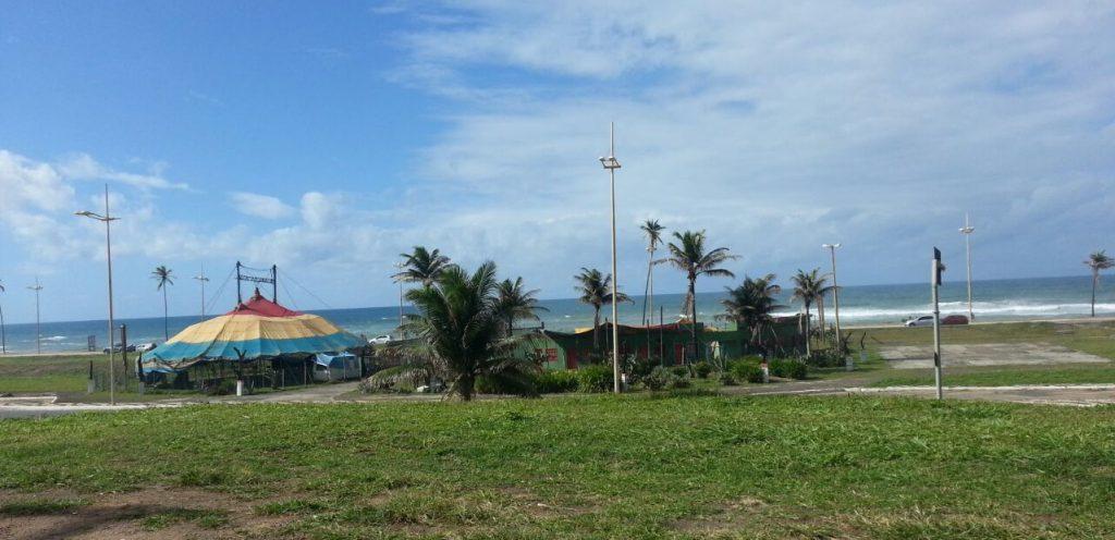 Trecho da orla em Jaguaribe que será objeto do concurso nacional