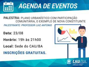 Agenda de Eventos CAU