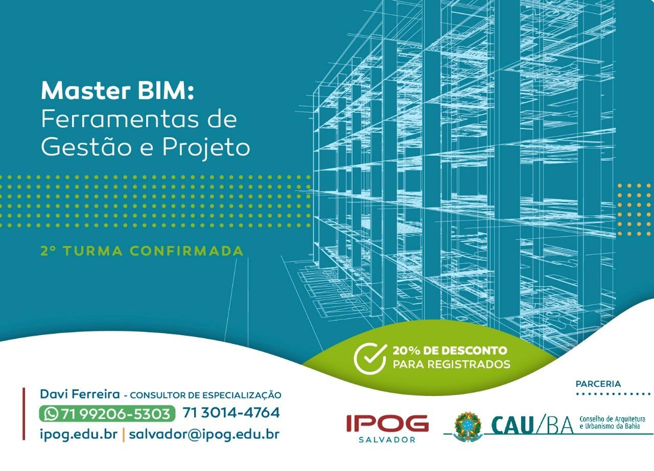 IPOG lança curso de pós graduação em BIM.